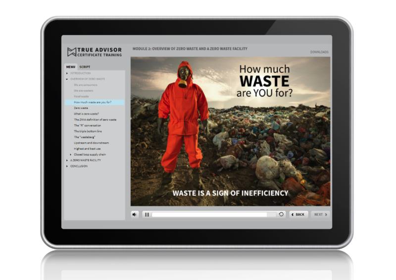 Zero waste training